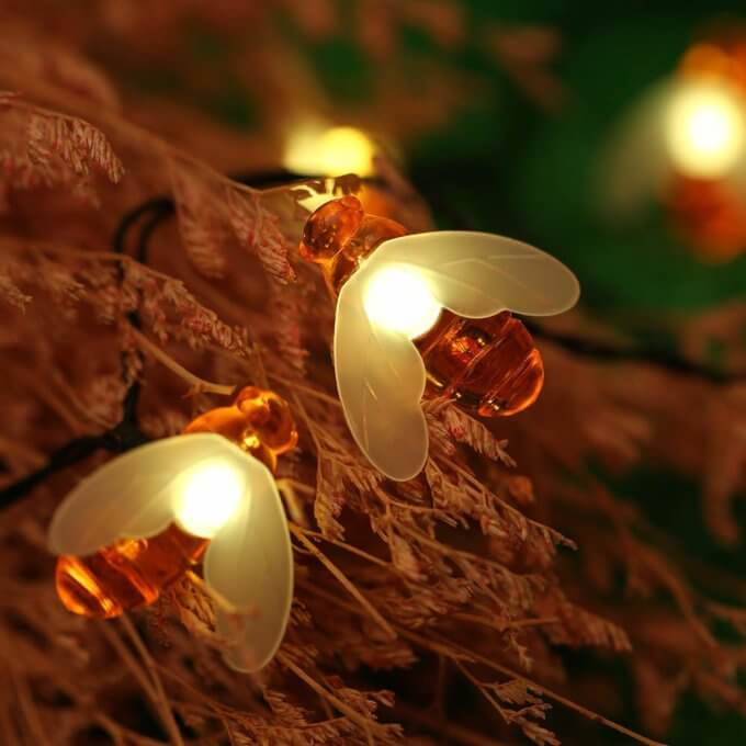 Bee Fairy Solar Light (USB and Remote Control)